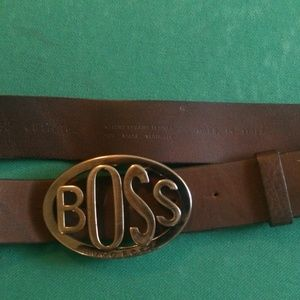 hugo boss  Boss belt